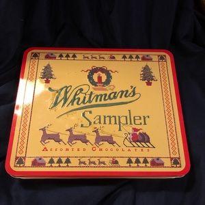 Whitman's Sample vintage tin